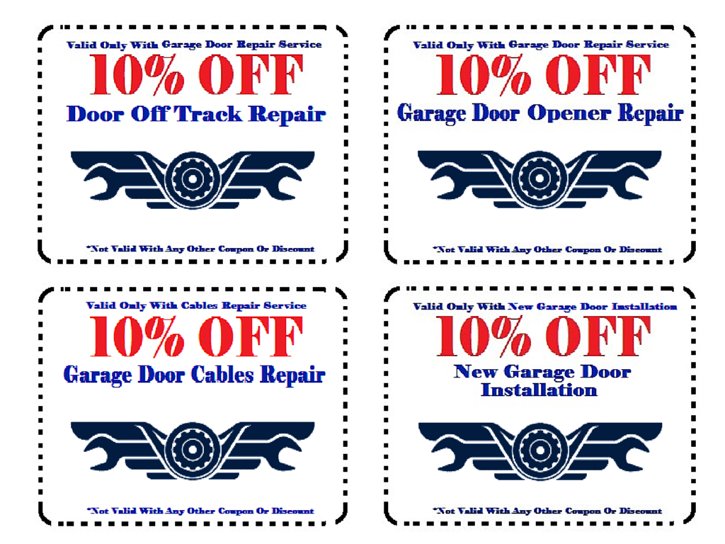 Garage coupon code in store