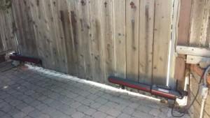 Swing Wood Gate Repair Lakeside