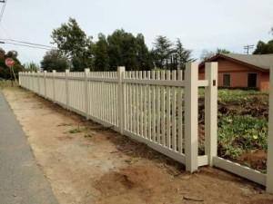 Vinyl Picket Fence San Diego